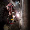 Offshore pipe welding sample weldment