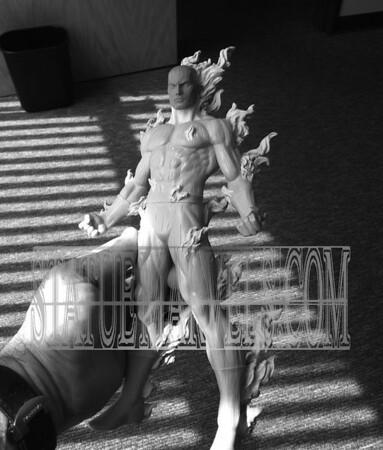 Bowen Designs Human Torch Statue