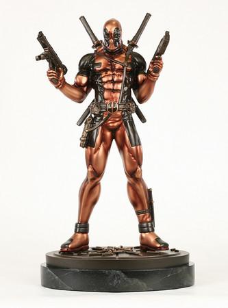 Faux Bronze Deadpool