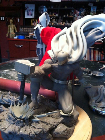 Bowen Designs Strike Down Thor Statue