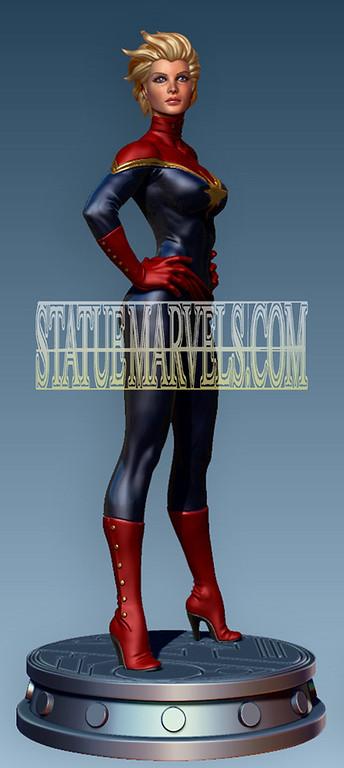 New Captain Marvel Carol Danvers