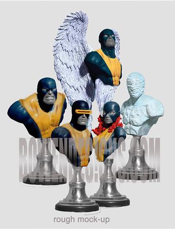 X-Men Original Costumes Set
