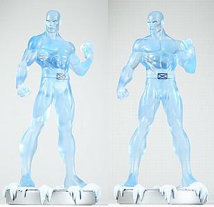 Bowen Designs Iceman Clear Statue
