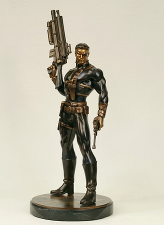 Nick Fury Faux Bronze