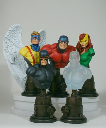 X-Men Variant Mini Busts 5 Pack