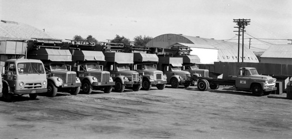 G.I. Rubbish Fleet ca. 1956