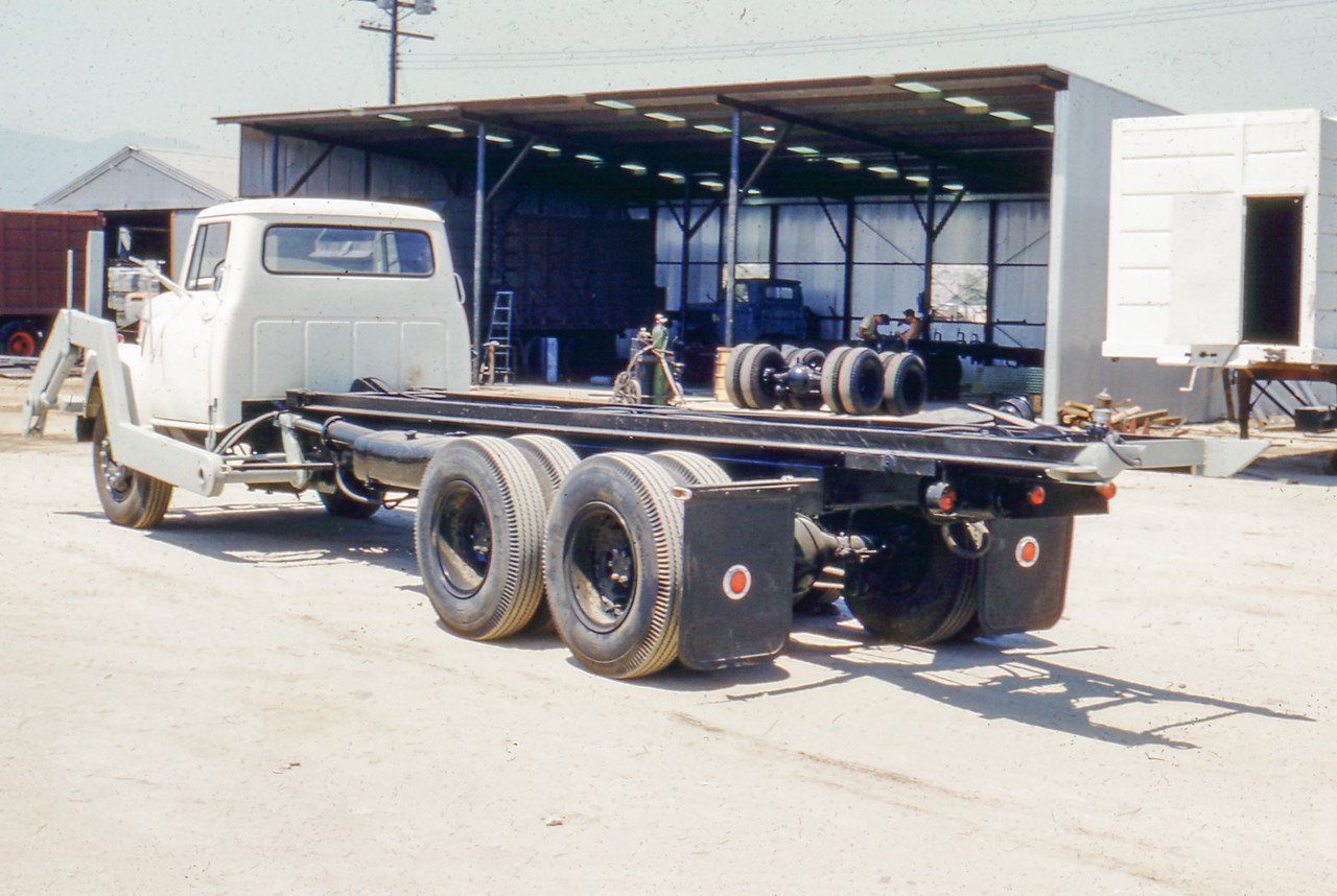 1955 International AC180 Bowles Front Load Roll Off Unit