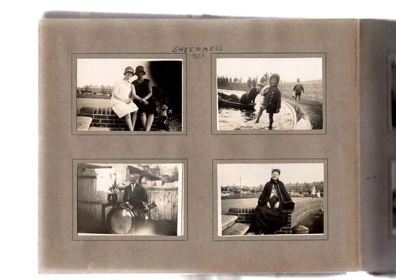 Top left; ? & ?.<br /> Bottom left; ?<br /> Top right; Herbert Bowles (age 14) & Vera Bowles (age 3).<br /> Bottom right; Sarah-Jane Wrighting.