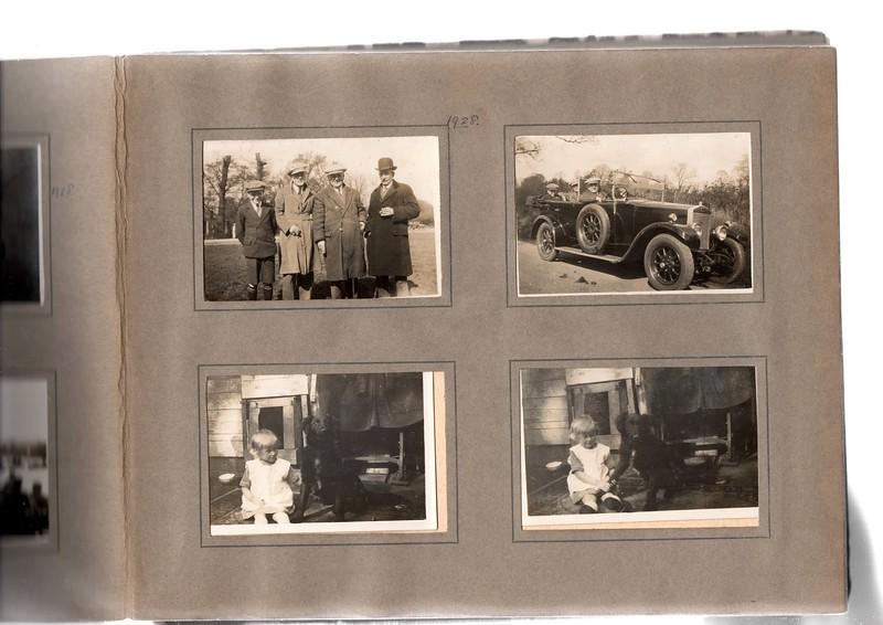 Top left; Herbert Bowles, ?, ? & ?.<br /> Bottom left; Vera Bowles (age 2).<br /> Top right; Herbert Bowles, ? & ?.<br /> Bottom right; Vera Bowles.