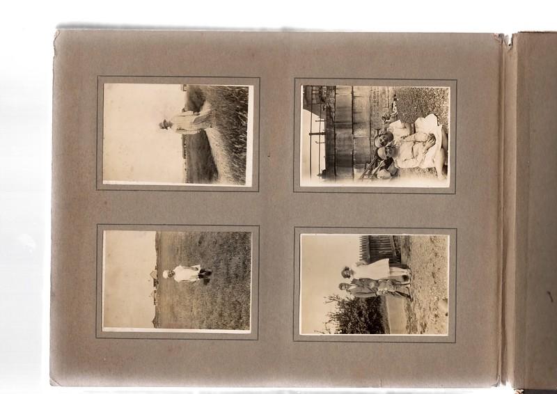 Top left; ?.<br /> Bottom left; Vera Bowles.<br /> Top right; ? & ?.<br /> Bottom right; ?, Vera Bowles & ?.