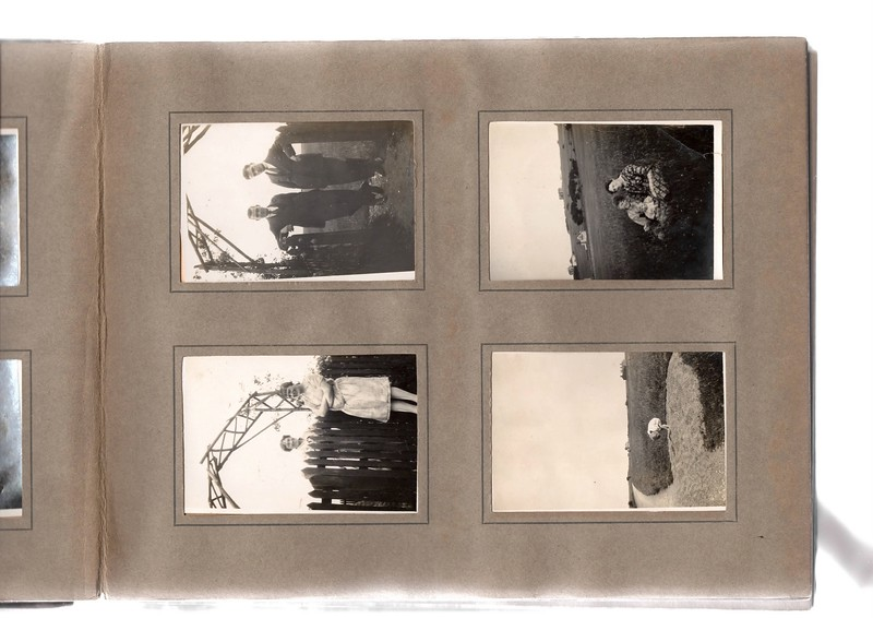 Top left; ? & ?.<br /> Bottom left; ? & ?.<br /> Top right; ? & ?.<br /> Bottom right; Vera Bowles.