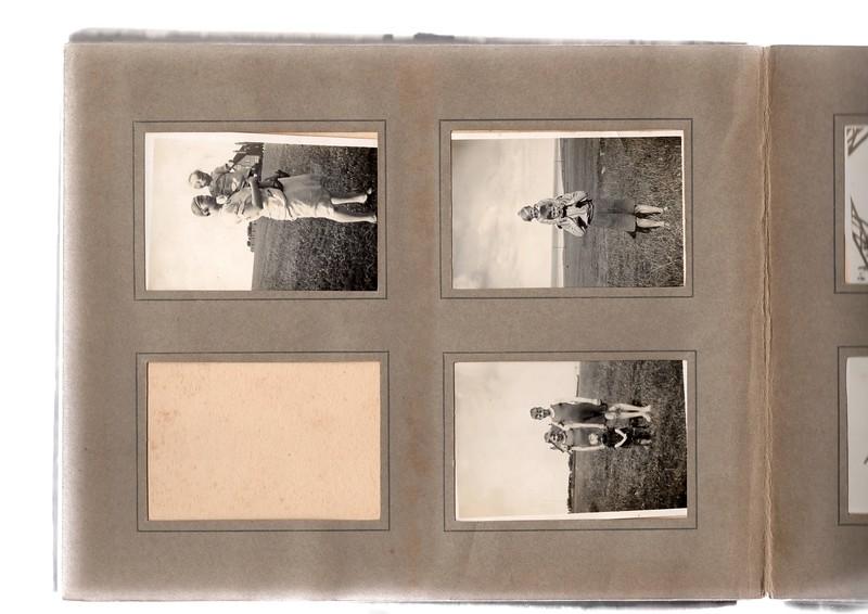Top left; ? & Vera Bowles.<br /> Top right; Vera Bowles & Herbert Bowles.<br /> Bottom right; Herbert Bowles, Vera Bowles & ?.