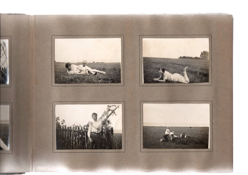 Top left; Agnes Bowles & Vera Bowles.<br /> Bottom left; ?<br /> Top right; Agnes Bowles.<br /> Bottom right; Vera Bowles, ? & Herbert Bowles.