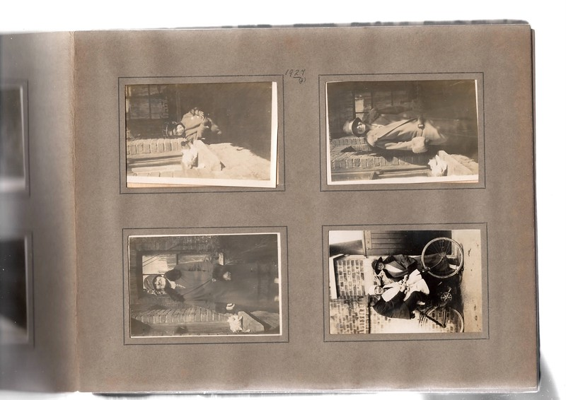 Top left; Vera Bowles (aged 1)<br /> Bottom left; ?.<br /> Top right; ?.<br /> Bottom right; ?, ? & ?.