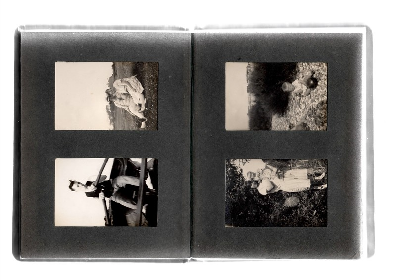 Top left; Agnes Bowles & ?.<br /> Bottom left; ?<br /> Top right; Vera Bowles.<br /> Bottom right; ? & Vera Bowles.
