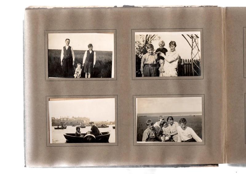 Top left; ?, Vera Bowles & Herbert Bowles.<br /> Bottom left; ? & ?.<br /> Top right; Herbert Bowles, Vera Bowles & Agnes Bowles.<br /> Bottom right; Herbert Bowles, ?, Vera Bowles, Agnes Bowles & ?.