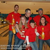 Team golden pin & Monday Night Champs:  Panther 755