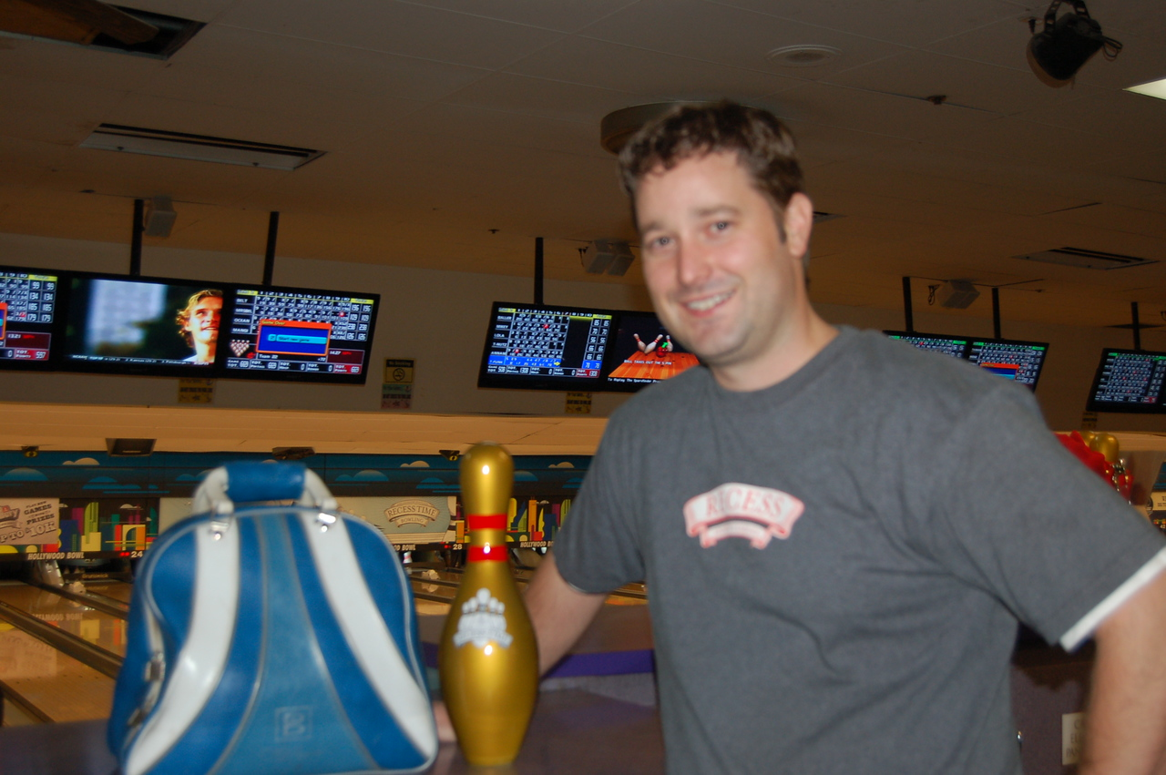 Golden Pin Male:  Scott Belt 245 Gutter Despair