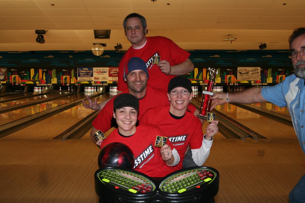 Champs:  10 Pin Mafia
