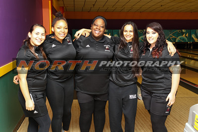 Molloy Girls at  Eastern Intercollegiate Bowling Conference Meet 3