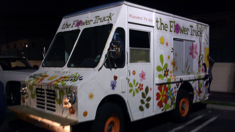 The Flower Truck, Los Angeles, CA