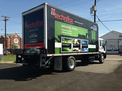 Technifax, Box truck, Dallas, TX