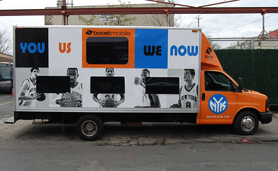 NY Knicks, Boost Mobile, New York, NY