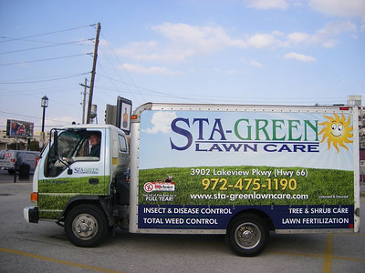 Sta-Green Lawn Care, Dallas, TX.