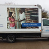 Meals on Wheels, Visiting Nurses Association, Box Truck, Dallas, TX