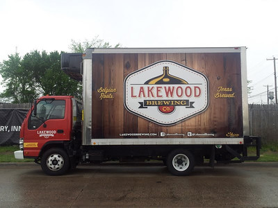 Lakewood Brewing Co., Box Truck, Dallas, TX