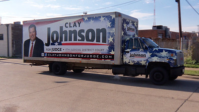 Clay Johnson for Judge Campaign, Dallas, TX
