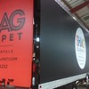 Box Truck and cab with custom wrap for Shag Carpet, Dallas, TX