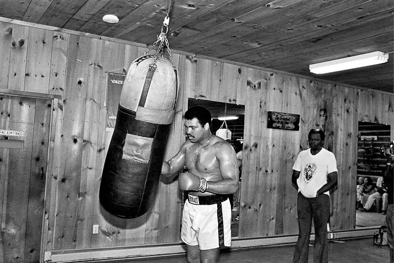"Muhammad Ali with Drew ""Bundini"" Brown"
