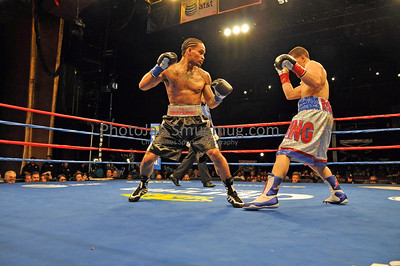 Foxwoods 4 16 11: Lous Rosa 5(4)-0(0)-0 vs Joseliz Cepeda 4(0)-1(0)-0: Featherweight: Lous won by TKO