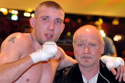 Super Middleweights Todd Erickson (1-4-1, 1 KO), Dover, NJ (168.5 lbs)