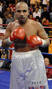 10/16/10 Third Bout in Union City, NJ: Paterson Cruiserweight Elvin Sanchez improved to 4-1 (3 KO's) with a hard fought 4 round decision win Philadelphia's tough Pedro Martinez, whose record fell to 5-4 (3 KO's).