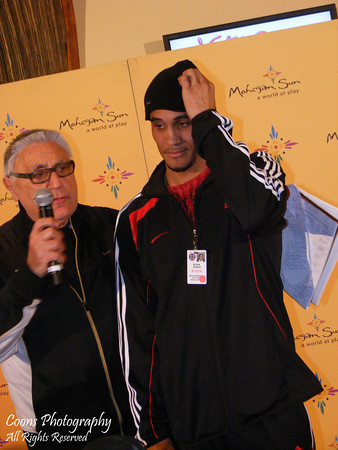 CES Boxing Weigh-Ins - February 3, 2011 - Mohegan Sun