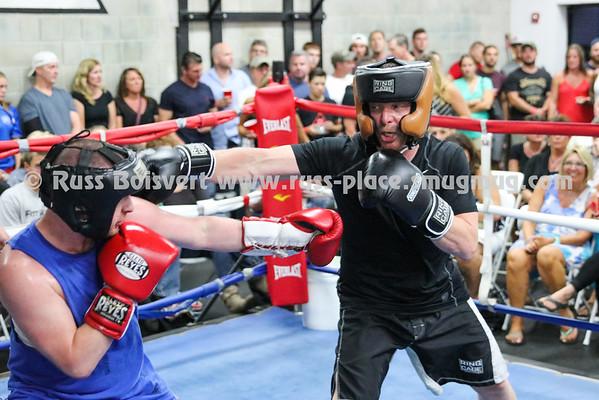 Fight 1 Bill Cartherwood vs Don Deluca