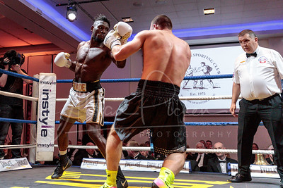 25/04/19 BRITISH BOXING  UKASHIR FAROOQ vs KYLE WILLIAMS  RADISSON BLU - GLASOW