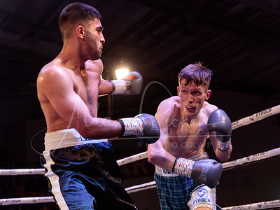 Sean McKiddie  vs  Naheem Chaudry