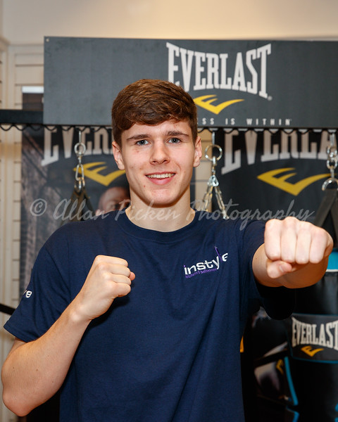 ST ANDREWS SPORTING CLUB PRESS CONFERENCE.<br /> Everlast Showroom, Wilson Business Park, ​Hillington​, G524NQ