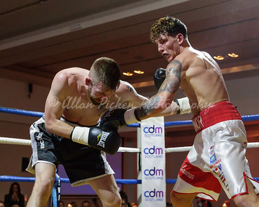 Scottish title and British eliminator Cash Farooq v Scott Allan