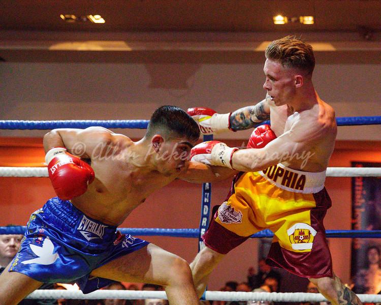 Scottish title and British eliminator<br /> Cash Farooq v Scott Allan
