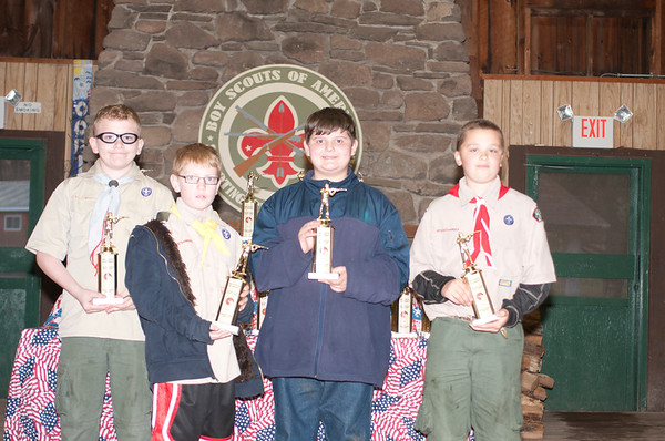 Boy Scouts TMR shooting  awards / ice cream social