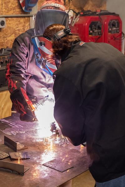 Working on Welding