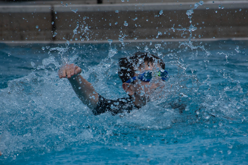 Hayden in the Splash Zone