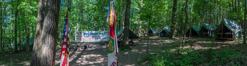 Baden Powell A Campsite