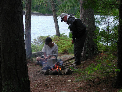 Boundary Waters Venture Scout trip 20 071304