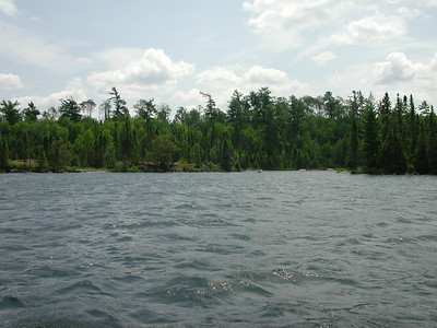 Boundary Waters Venture Scout trip 31 071404