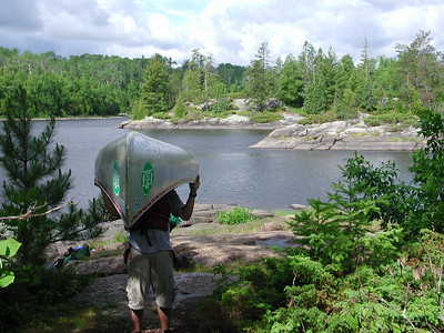 Boundary Waters Venture Scout trip 12 071304